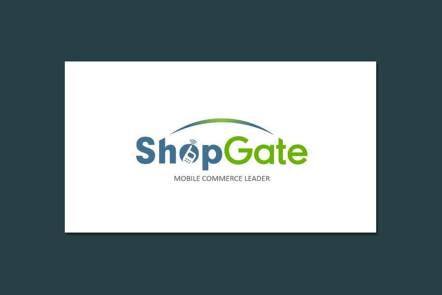 Penyertaan Peraduan #127 untuk Design a Logo for Shopgate.com