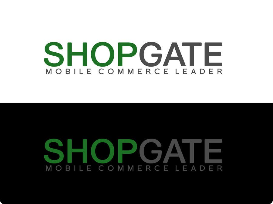 Penyertaan Peraduan #117 untuk Design a Logo for Shopgate.com