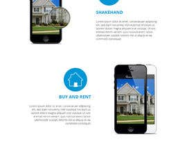 #24 for Design a Website Mockup for iPhone Application Website by sanaqila