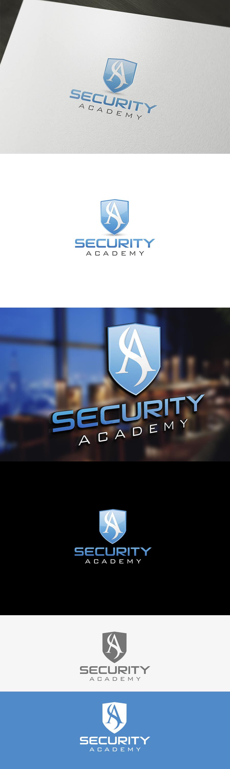 #91 for Design a Logo for Security Academy by logowizards