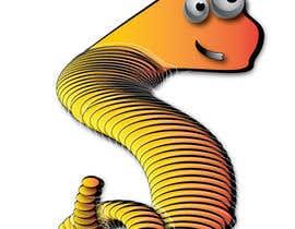 Nro 3 kilpailuun Design a Worm käyttäjältä dafinabogeska