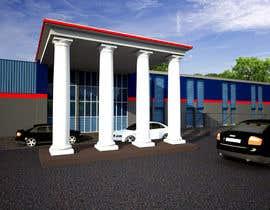Nro 15 kilpailuun Industrial Building Rendering käyttäjältä archmamun