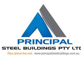 #334 para Logo Design for PRINCIPAL STEEL BUILDINGS por vanee
