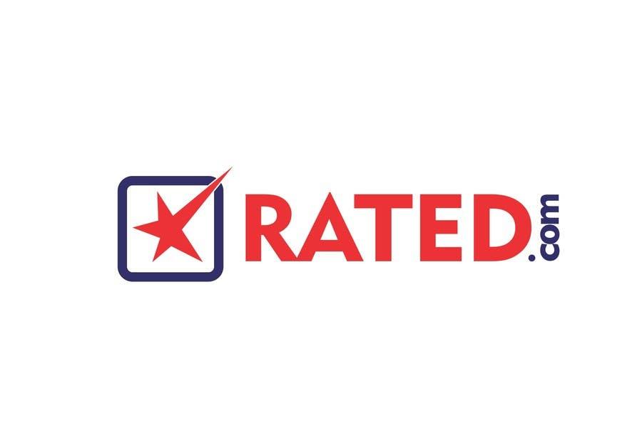Inscrição nº 240 do Concurso para Design a Logo for Rated.com