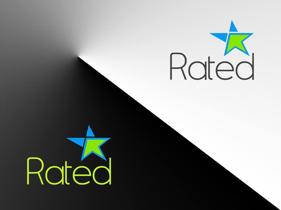 Inscrição nº 56 do Concurso para Design a Logo for Rated.com