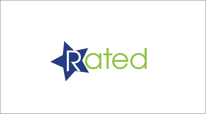 Inscrição nº 156 do Concurso para Design a Logo for Rated.com