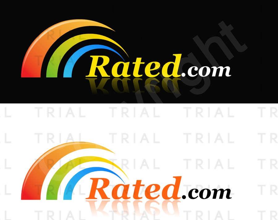 Inscrição nº 80 do Concurso para Design a Logo for Rated.com