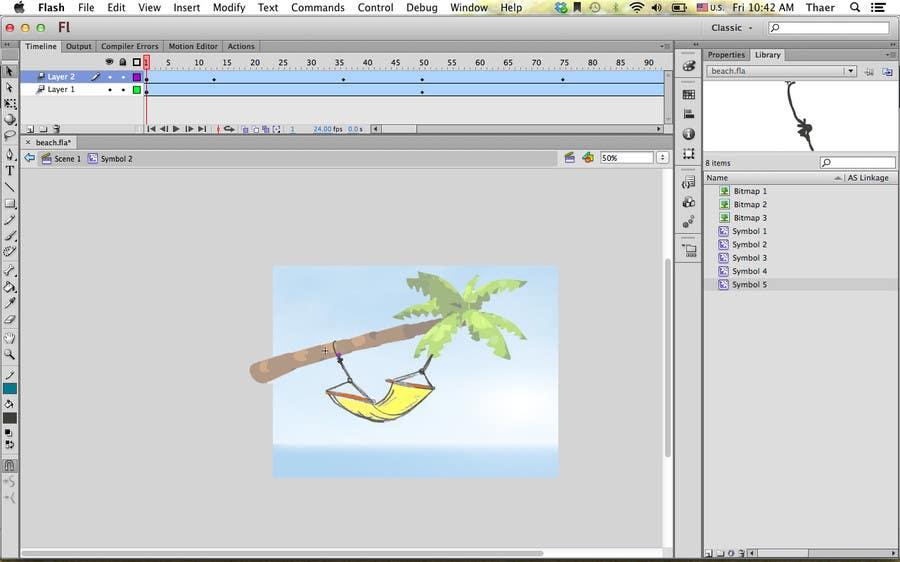 #6 for Cartoon Scene: Design : Flash : Animation by tharm