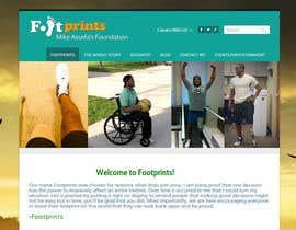 nº 6 pour Mike Assefa's Footprints Foundation par adstyling