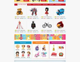 nº 22 pour Design website for toyshop par alpyraj81