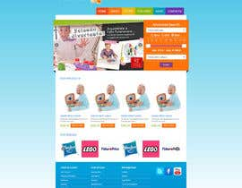 nº 24 pour Design website for toyshop par draison