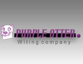 nº 8 pour Design a Logo for Purple Otter Business Wiritng Co. par BenVernon