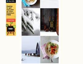 Aloknano tarafından Design a website mockup for my foodblog (2 pages) için no 20
