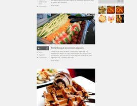 Aloknano tarafından Design a website mockup for my foodblog (2 pages) için no 22