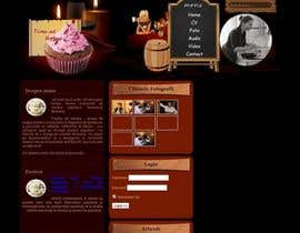 marianxx tarafından Design a website mockup for my foodblog (2 pages) için no 13