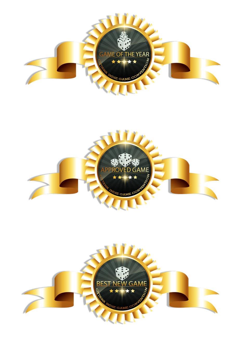 Inscrição nº 37 do Concurso para I need some Graphic Design for Award Badges