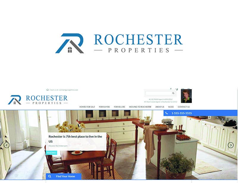 Bài tham dự cuộc thi #117 cho Design a Logo for a Real Estate Company