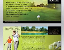 #27 untuk Brochure Design for Howlong Country Golf Club oleh Ollive
