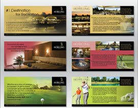 #28 untuk Brochure Design for Howlong Country Golf Club oleh Ollive