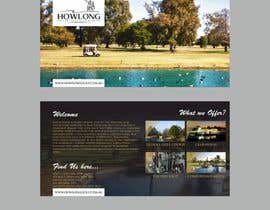 #4 для Brochure Design for Howlong Country Golf Club от F5DesignStudio