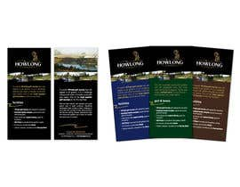 #2 untuk Brochure Design for Howlong Country Golf Club oleh flowdesignbiz