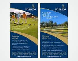 #29 untuk Brochure Design for Howlong Country Golf Club oleh imaginativeGFX