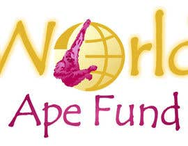 #19 for Design a logo for the not-for-profit World Ape Fund af gabimitsova