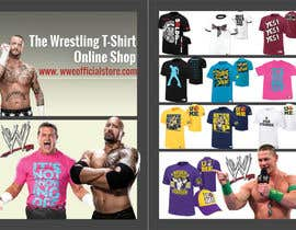 #3 for I need some Graphic Design for A6 Flyer for Wrestling tshirt online shop by jackowen23