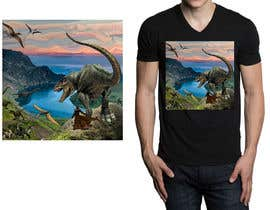 #13 for Design a Dinosaur Land T-Shirt by r3dcolor