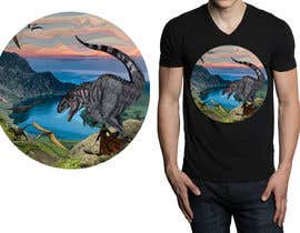 #23 for Design a Dinosaur Land T-Shirt by r3dcolor