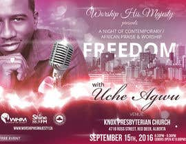 Nro 24 kilpailuun Freedom Concert Flyer - September 2016 käyttäjältä zhoocka