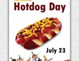 Nro 6 kilpailuun Design a hotdog party greeting card käyttäjältä anujsehrawat