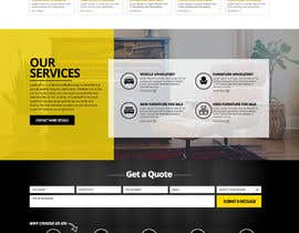 nikil02an tarafından Re-design a website (Landing page for home and content pages) için no 81