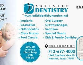 #28 for Design an Advertisement for dental office by pointlesspixels