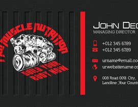 #18 for Design some Business Cards for a Supplement store by annahavana