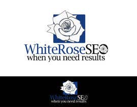 #245 para Logo Design for White Rose SEO (www.whiteroseseo.com) por ZenbayMono