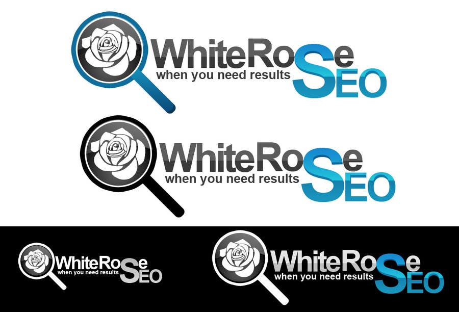 Proposition n°239 du concours Logo Design for White Rose SEO (www.whiteroseseo.com)