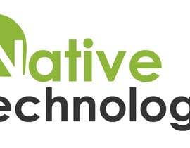 nº 11 pour Native Technology Logo par threedrajib
