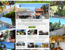 #20 for Design a Website Mockup for a holiday paradise Real Estatate site by sayedphp