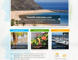 nº 5 pour Design a Website Mockup for a holiday paradise Real Estatate site par cihangir