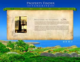 #8 for Design a Website Mockup for a holiday paradise Real Estatate site by Spector01