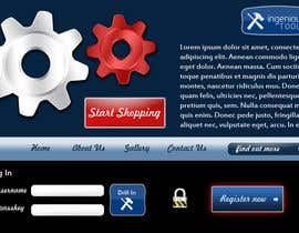 #12 για Website Design for Ingenious Tools από apixelhouse