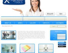 #10 para Website Design for Ingenious Tools por antoaneta2003