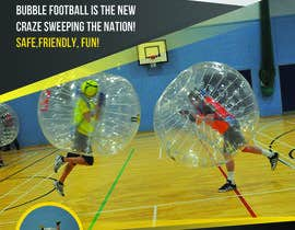#9 for Design a Flyer for Bubbleball Uk by ShirtMonkey