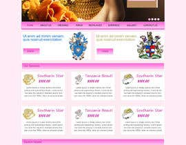 #6 for Website design for a jewellers - Please read the brief. af webidea12