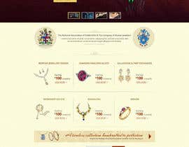 #33 untuk Website design for a jewellers - Please read the brief. oleh alpyraj81