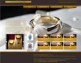 #5 untuk Website design for a jewellers - Please read the brief. oleh barinix