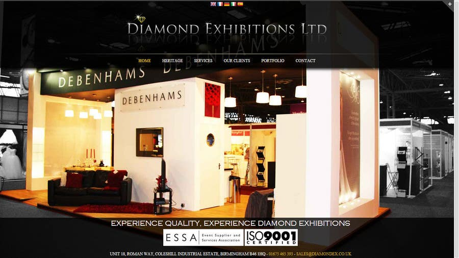 #1 for Website design for a jewellers - Please read the brief. by epuranviorel