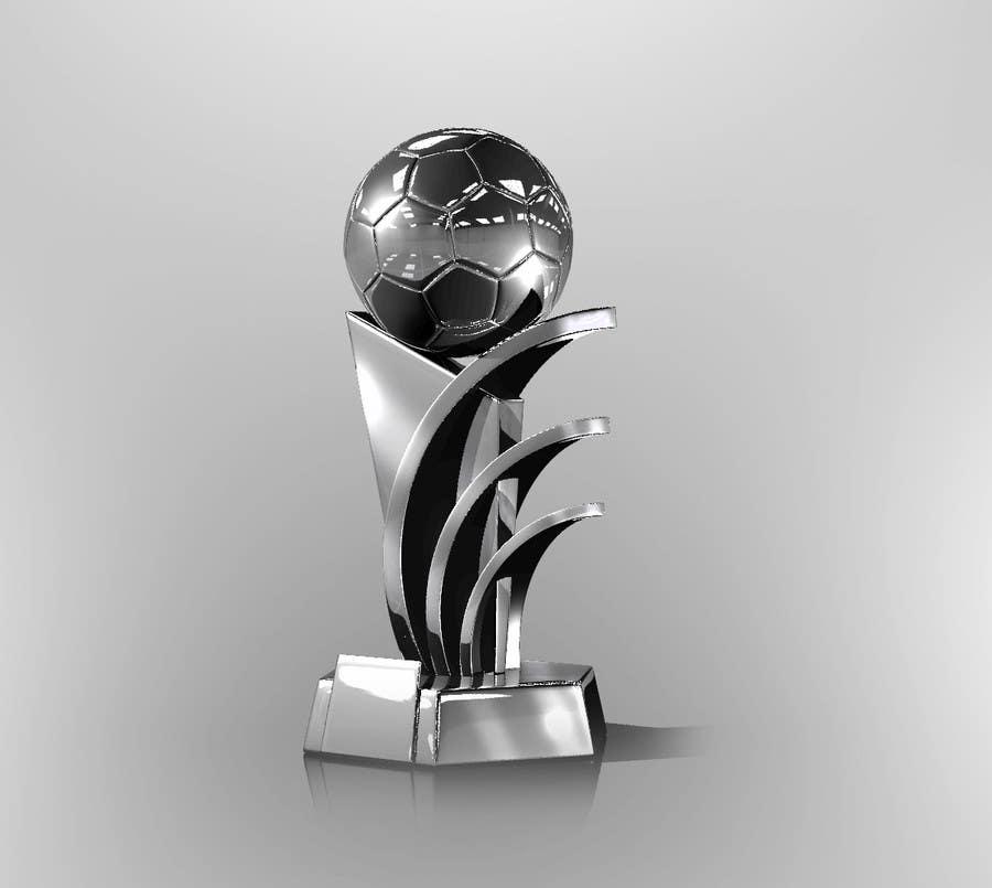 Konkurrenceindlæg #                                        3                                      for                                         Award/Trophy design for 3d Printing
