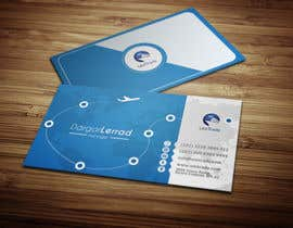 #46 untuk Design some Business Cards for an Import/Export Company, with this logo. oleh deniedart